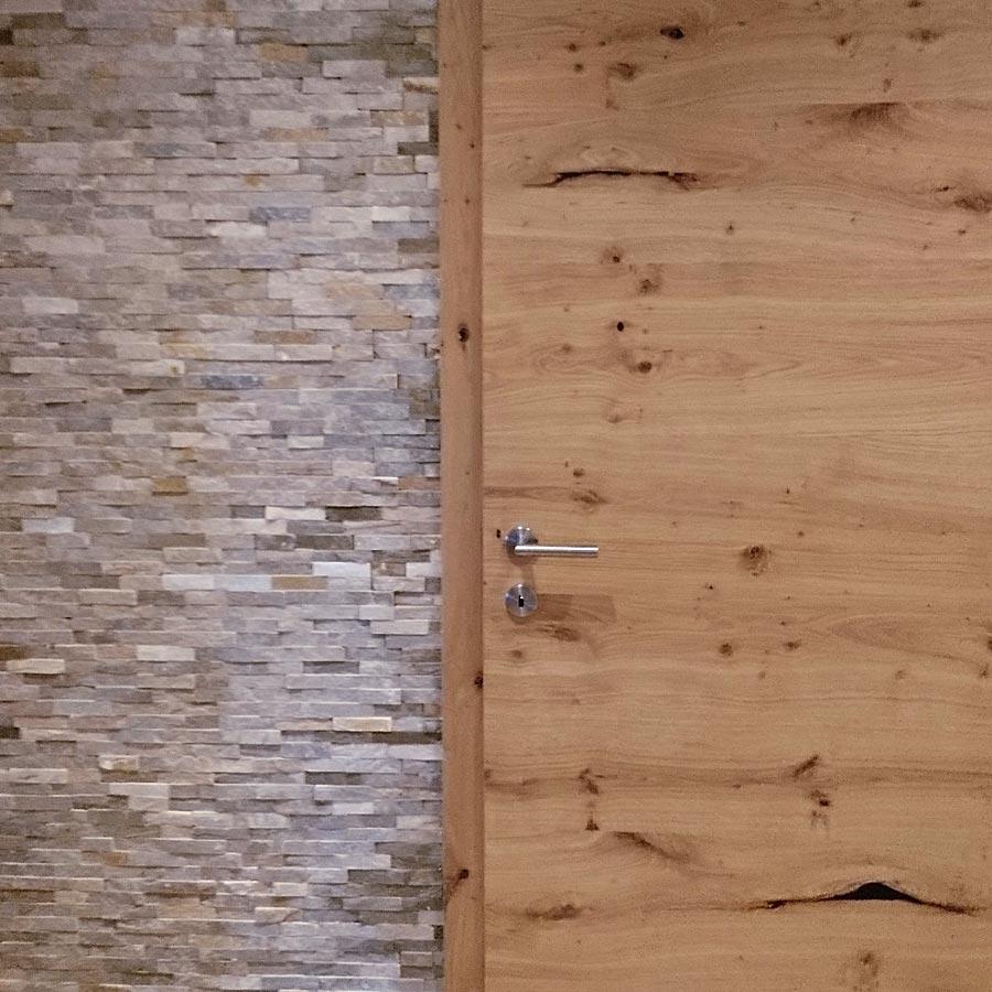 Naturstein im Wohnzimmer